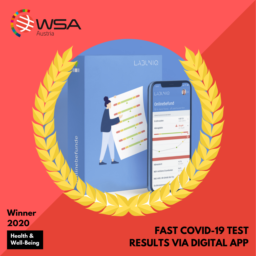 Fast Covid-19 Test Results via Digital App